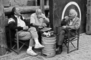 elders in a conversation